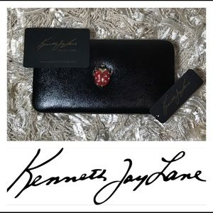 Kenneth Jay Lane June Bug Clutch
